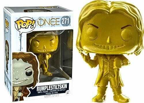 Once Upon a Time-rumpelstilskin GOLD Funko Pop Vinyl Figure-RARE voûtée