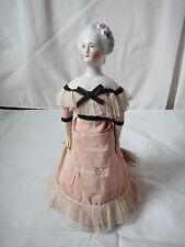 Antique China shoulder head doll AUTOPERIPATETIKOS 10 inches tall CIRCA 1865 /70