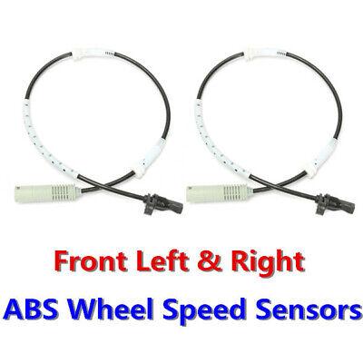 2X ABS WHEEL SPEED SENSOR BMW 1 /& 3 SERIES E81,E82,E87,E88,E90,E91,E92,E93