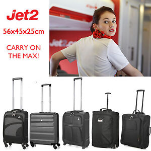Image Is Loading 56x45x25 Jet2 Com Hand Luggage Cabin Bags