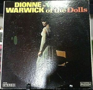 DIONNE-WARWICK-Valley-Of-The-Dolls-Released-1967-Vinyl-Record-Collection-USA