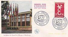 FRANCE 1958 FDC EUROPA EXPOSITION PHILATELIQUE YT 1173