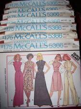 LADIES ELASTIC NECKLINE DRESS PATTERN P-M FF UNCIRCULATED 1977 SIMPLICITY #8388