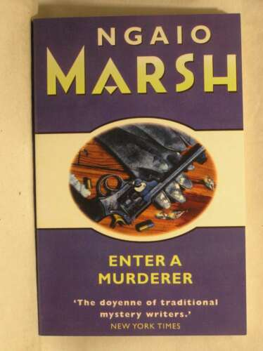 1 of 1 - Enter a Murderer, Ngaio Marsh, Excellent Book
