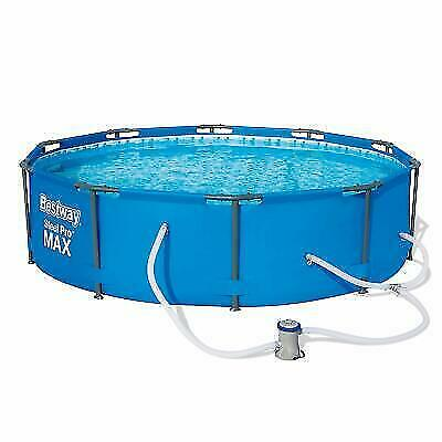 Bestway 56407 Steel Pro Frame Above Ground Swimming Pool for sale online |  eBay