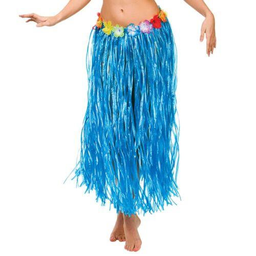 Hawaiian Grass Hula Style Skirt 80cm Long Fancy Dress Luau Summer Beach Party