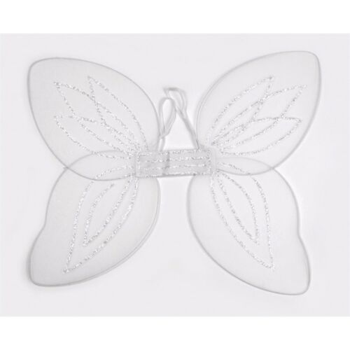 Large White Netted Angel Wings Fancy Dress Fairy Adult Accessory Christmas