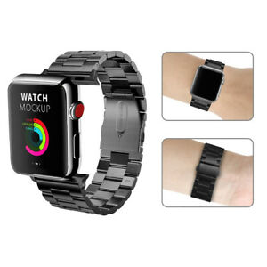 For Iwatch Apple Watch Series 5 4 44mm Stainless Steel Wrist Band Strap Black Ebay