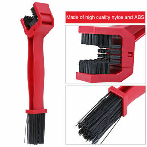 Motorcycle-Bike-Bicycle-Chain-Wheel-Cleaning-Brush-Wash-Cleaner-Tool-Red-AU