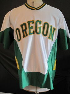 Vintage Oregon Ducks Basketball Game Used Nike Shooting Jersey Worn by #20 Lewis