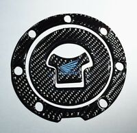 Honda Cbr 1000 600 Rr Real Carbon Fiber Tank Cap Filler Cover Sticker Trim