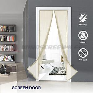 Magnetic Screen Door 36 Quot X 82 Quot Heavy Duty Walk Through