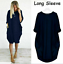 Mini-Dress-Casual-Stretch-dresses-for-women-Loose-Oversized-Ladies-summer-Tops thumbnail 21