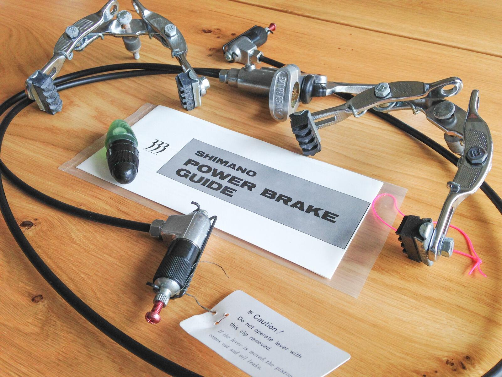 Shimano 3.3.3. Power Brake   Hydraulic Caliper Brake Set. Unique, Vintage, NOS