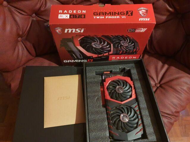 MSI Gaming X RX 470 4GB