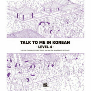 Talk-To-Me-In-Korean-Level-4-Book-Hangul-Grammar-Beginner-Textbook-Education-VA