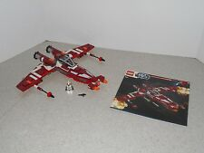 USED LEGO STAR WARS REPUBLIC STRIKER CLASS STARFIGHTER (9497) - PILOT & MANUAL
