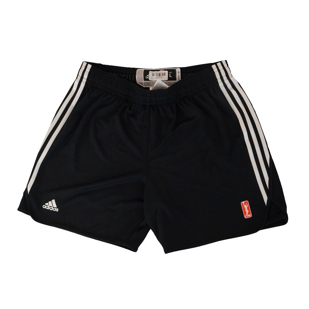 WNBA Adidas Team Joueur Officiel Pro Short Authentic Practice Noir