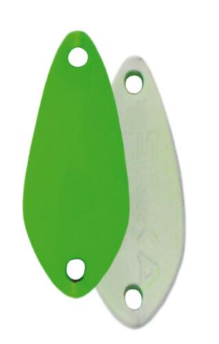FTM Spoon Thin Seika Forelle Fishing Tackle Max 1,2 1,8 und 2,2 Gramm