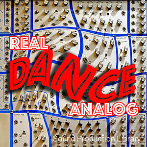 REAL DANCE ANALOG - Large Samples/Loops/Grooves Product