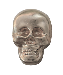 Skull Nickel-Plated Symbol For Orange Order Collarette