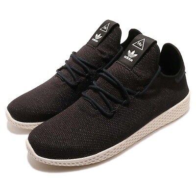 116722944636e adidas Originals PW Tennis Hu Pharrell Williams Black White Men Shoes AQ1056