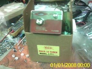 Details about MACO VFO TURNER 5 MHZ OR VARIABLE CAPACITOR CASE TRANSFORMER  FOR PARTS HAM CB