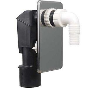 unterputz siphon sifon 40 50 waschmaschine geruchsverschluss ger teanschluss pe ebay. Black Bedroom Furniture Sets. Home Design Ideas