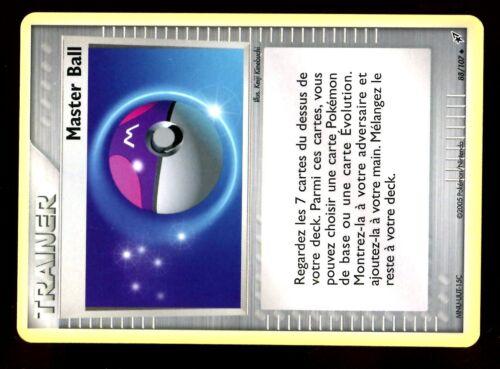 POKEMON EX DEOXYS UNCO N°  88//107 MASTER BALL