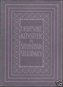 Bruhns-Leo-Deutsche-Kuenstler-in-Selbstdarstellung-1957