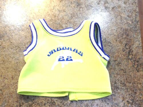 RETIRED American Girl Doll Julie Basketball Hoops Outfit JERSEY ONLY