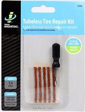 Genuine Innovations Tubeless MTB Bicycle Tire Repair Kit (Tool + Repair Plugs)