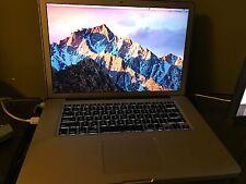 MacBook Pro 15 Mid 2012, Matte Display 256gb SSD