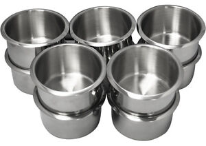 Image Is Loading 10PCS JUMBO SIZE STAINLESS STEEL POKER TABLE CUP