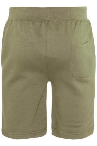Men Summer Sports Running Gym Fleece Contrast Panel Side 3 Stripes Sweat Shorts