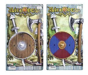 BRISTOL NOVELTY Viking épée//Sheild//hache Accessoires Costume