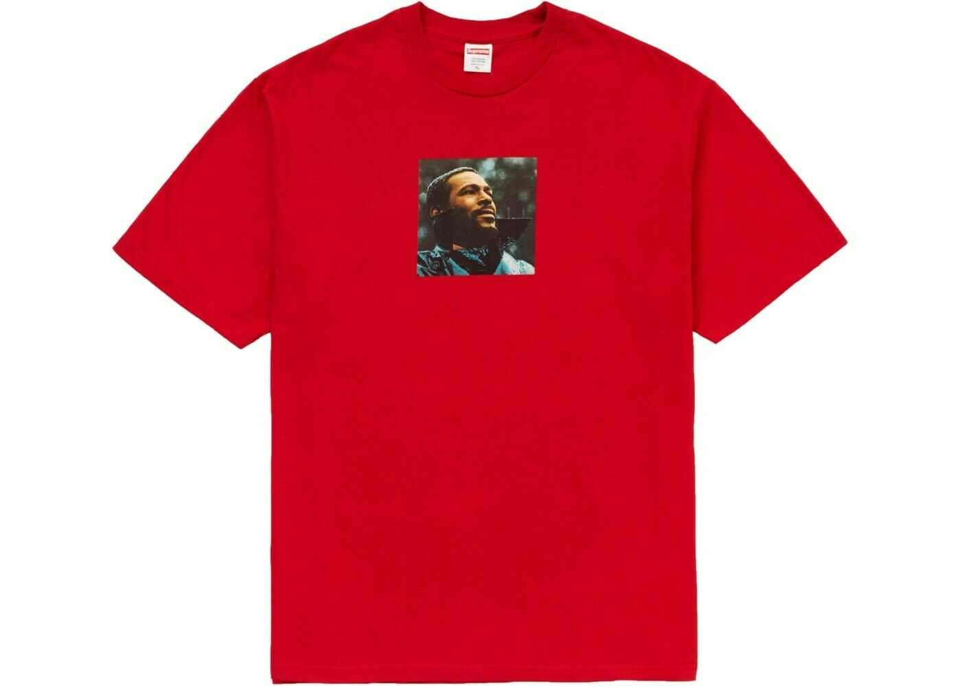Supreme FW18 Marvin Gaye Tee RED Large