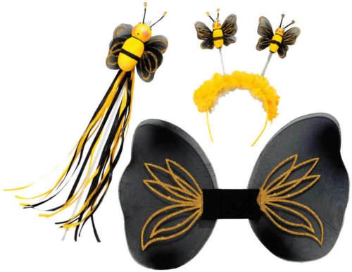 Abeille-Set abeille 3tlg Ailes Scintillant bienchenstab Carnaval