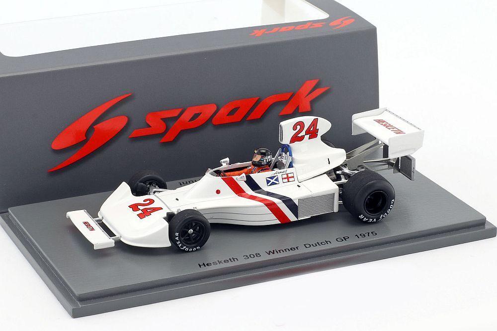 F1 Hesketh 308 Hunt WINNER DUTCH GP 1975 1/43 SPARK s2239
