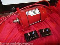 Low Wind Generator Permanent Magnet Alternator - Hurricane Cat V Platinum Pma