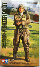 Tamiya 36312 1/16 Scale WWII Imperial Japanese Navy Fighter Pilot NIB