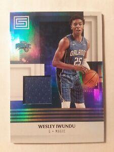 2017-18-Panini-Status-Materials-WESLEY-IWUNDU-Rookie-M-WIW-Orlando-Magic