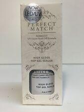 LeChat Perfect match Soak off Gel Polish Top Coat Sealer 1/2 oz /15 ml