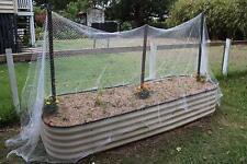 Hgmart Bird Netting 2pack For Fruit Vegetables Flower Against Birds 720ft White