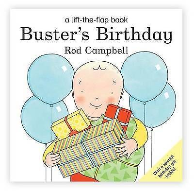 Buster's Birthday (Buster Lift the Flap), Campbell, Rod, Very Good Book