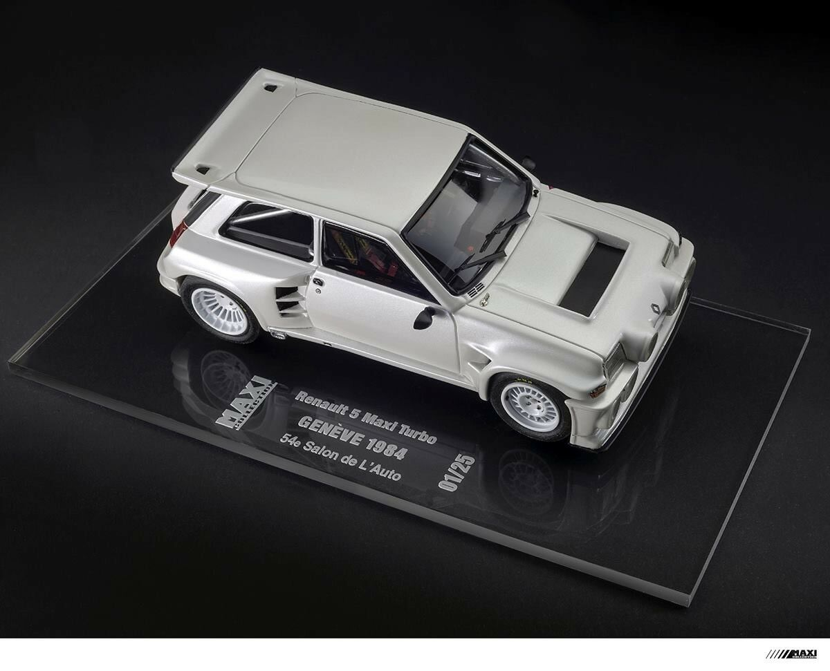 MaxiCollection Resin kit Renault 5 Maxi Turbo -1 24 scale - GENÈVE 1984(Kit nº8)