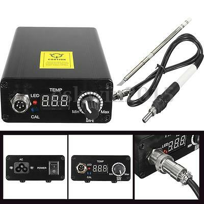 Digital Soldering Iron Station Temperature Controll Welding Solder + T12 Handle