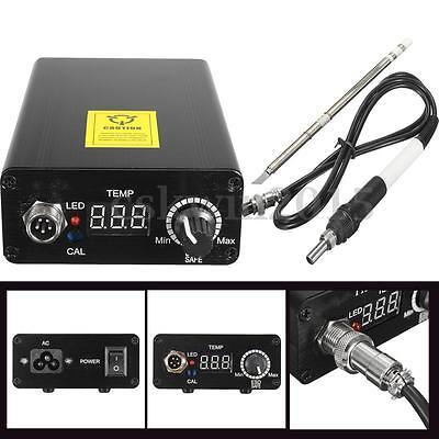 Digital Soldering Iron Station Temperature Controll Welding Solder + T12 Handle