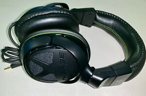 Turtle Beach Ear Force Black Headset For Xbox 360 Ps3 Ps4 Pc No Microphone Ebay
