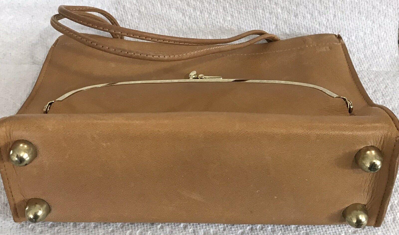 Vintage Coach Rare Leather Bonnie Cashin Stripe I… - image 5